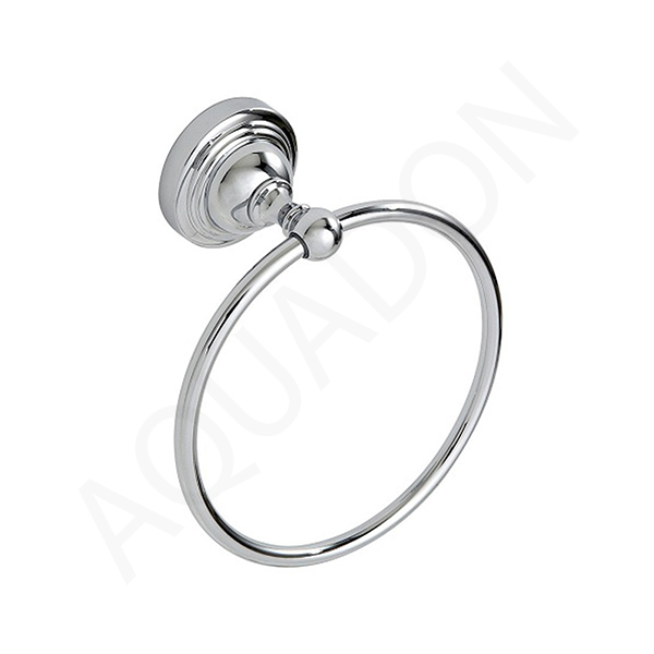 Hand Towel Ring Placement: Showerdrape Fidelity Chrome Bathroom Hand Towel Ring