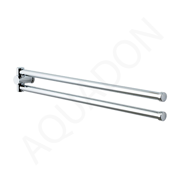 Showerdrape Infinity Chrome Double Swivel Towel Rail