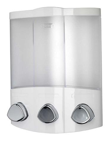 Euro Trio White Wall Mounted Triple Soap Dispenser Ebay