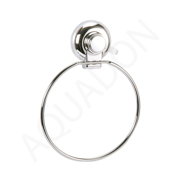 Hand Towel Ring Placement: Showerdrape Vertex Suction Fix Wire Hand Towel Ring