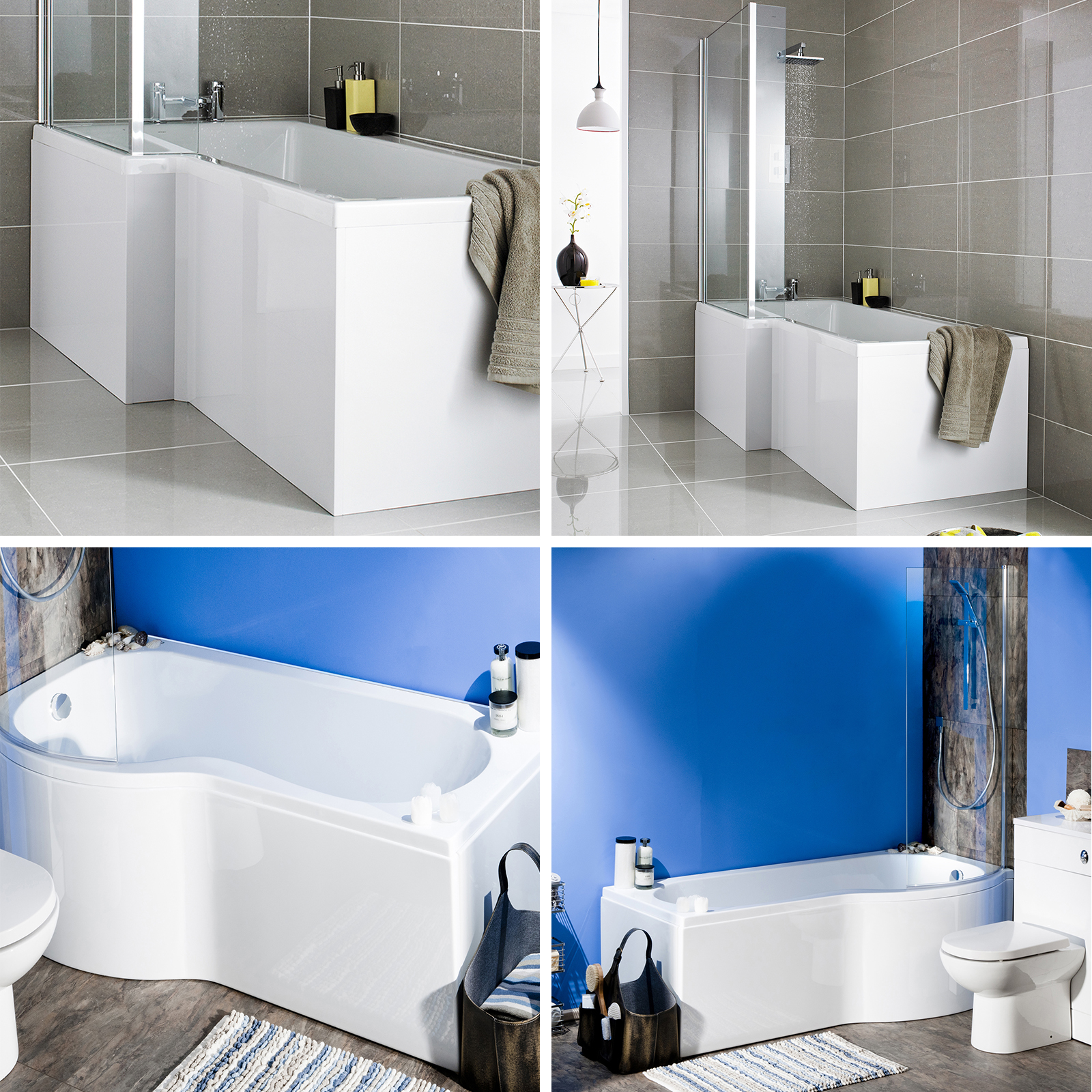 P Shaped Shower Baths Walk In Shower And Jacuzzi Tub Eclectic Other Metro By