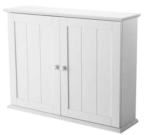 showerdrape denver white wood bathroom cabinet