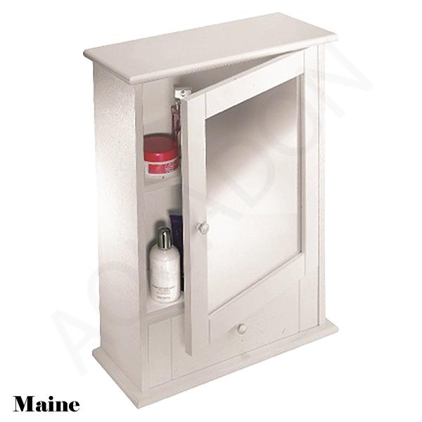 Bathroom Cloakroom Wall Mirror Storage Cabinets Cupboard Wood Mdf Gloss White Ebay