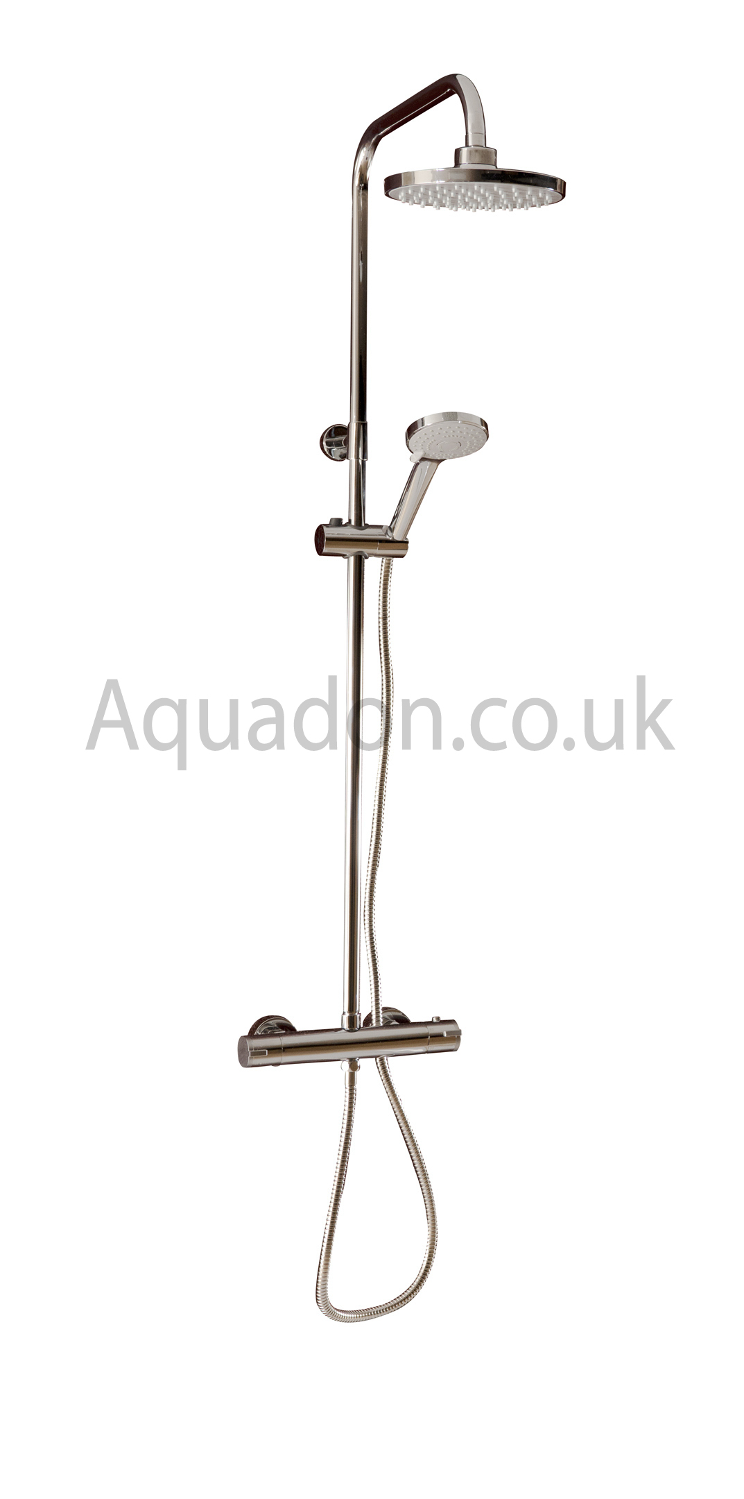 thermostatic shower mixer bar valve tap square round head