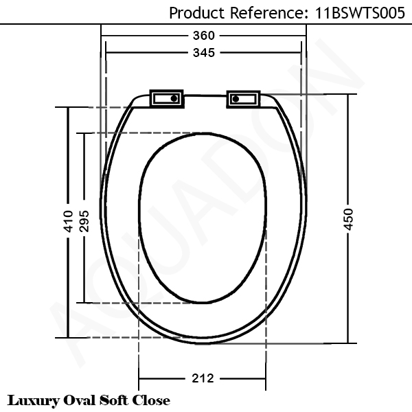 Luxury Soft Close Heavy Duty White Duraplas Toilet Seat EBay