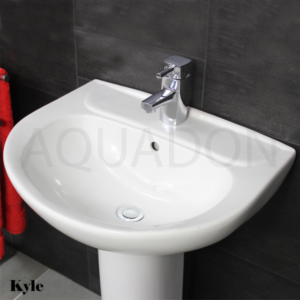 Kyle Toilet, Pedestal and Basin 5