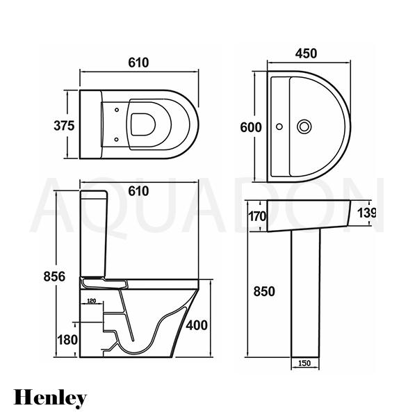Line Drawing Toilet : Bathroom cloakroom modern suite piece wc toilet pan