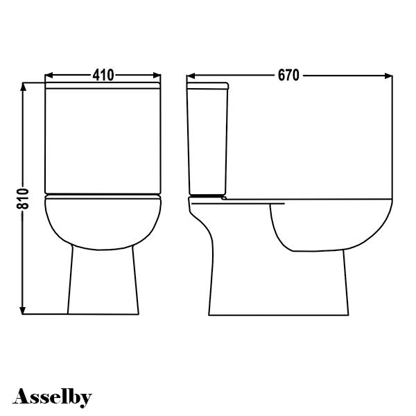 Line Drawing Toilet : Bathroom cloakroom modern luxury wc toilet pan cistern inc