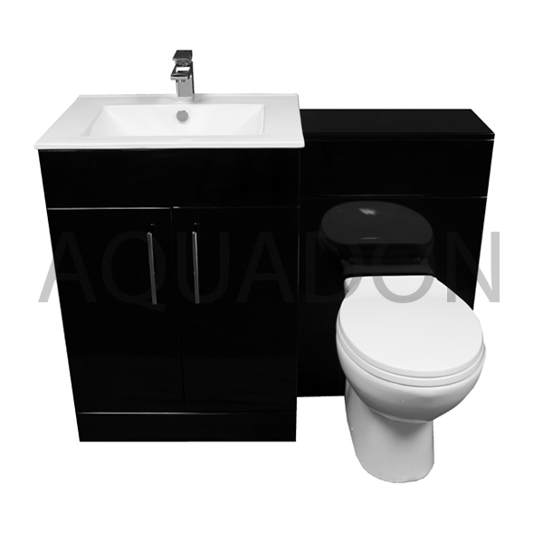 black vanity units for bathroom. Black Oblong Unit  BTW Laura Pan Front View Bathroom 610 Vanity Back To Wall WC Toilet