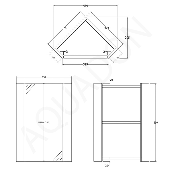 Line Art Vanity : Bathroom corner vanity unit mirror cabinet