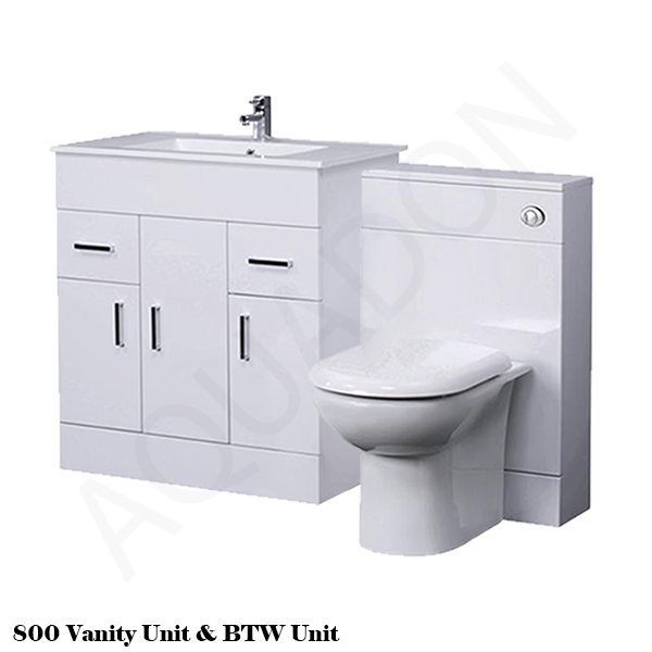 Vanity unit back to wall btw linton wc toilet pan for Small baths 1100
